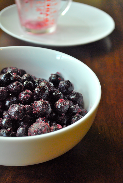 Blueberry Compote recipe and images by Lacey Baier, a sweet pea chef