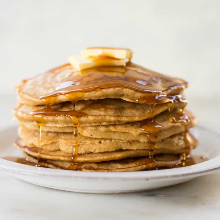 Homemade Healthy Diner Style Pancakes | Bring The Diner To You Any Day Of The Week!