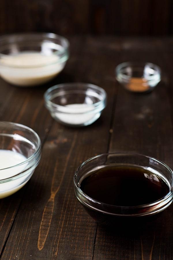 Eggnog Latte - The Ingredients