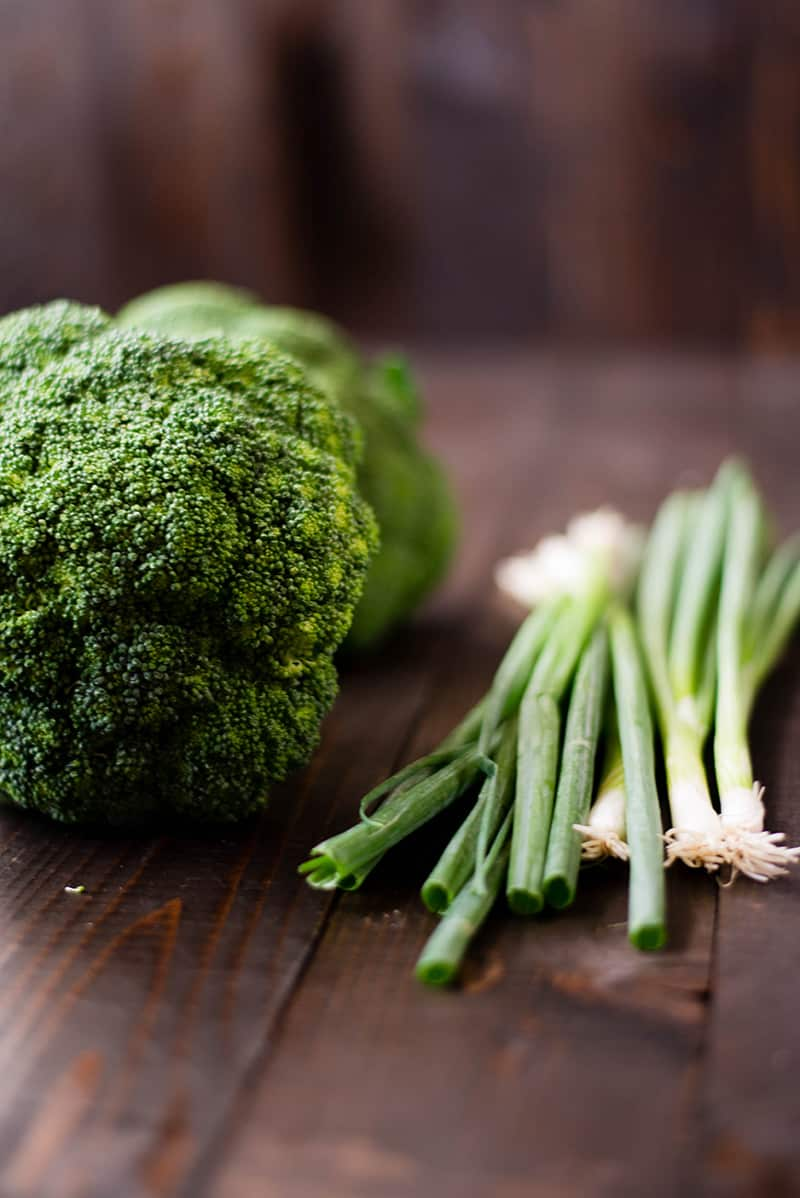 Healthy Beef And Broccoli Recipe - Broccoli and Green Onions