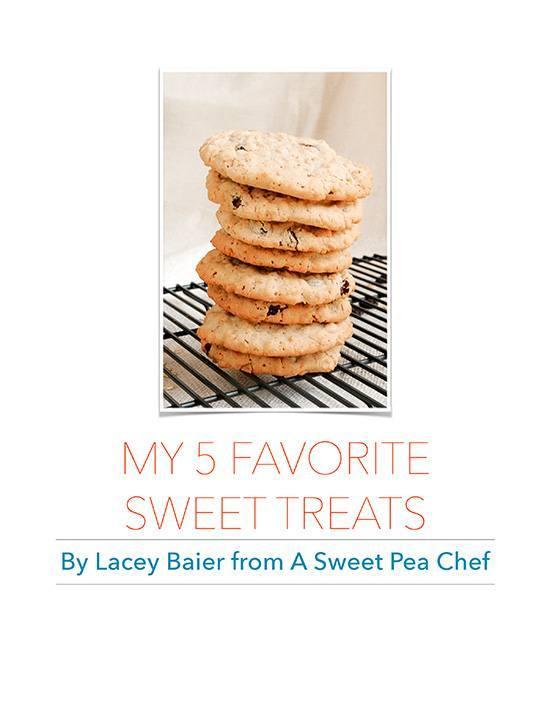 My 5 Favorite Sweet Treats