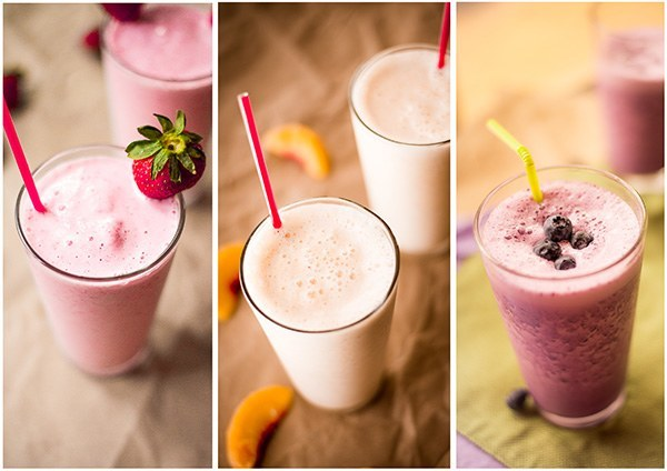Fruity Protein Shakes