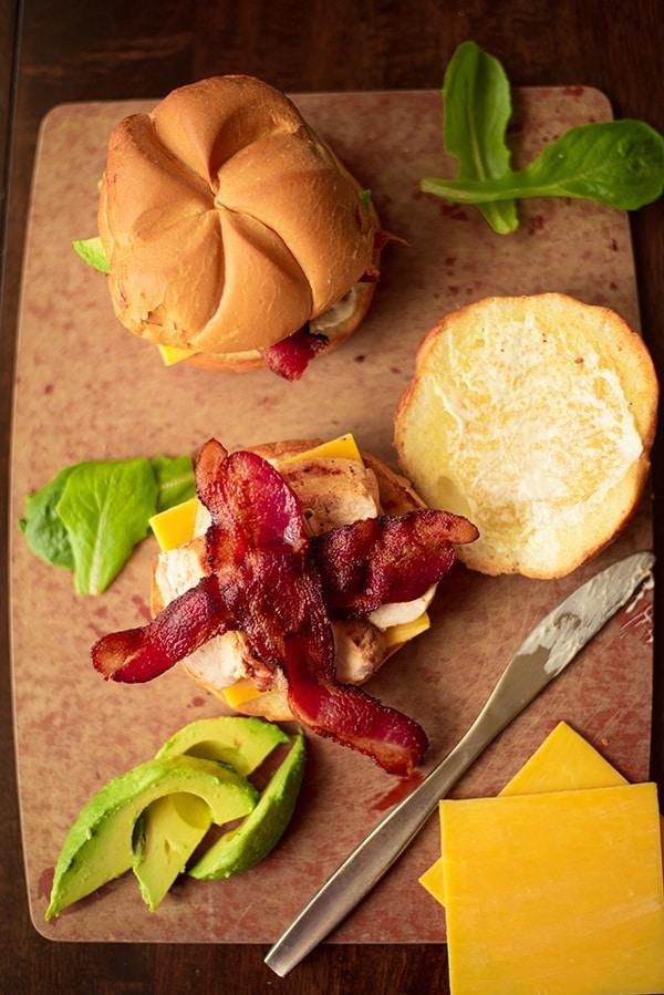 Bacon & Chicken Sandwiches