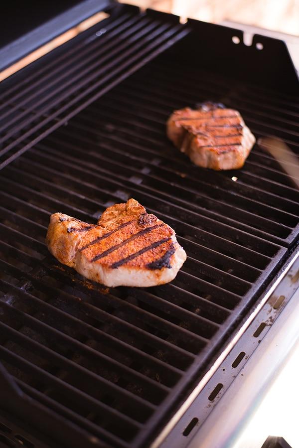 Pork Chops with Carolina Spice Rub