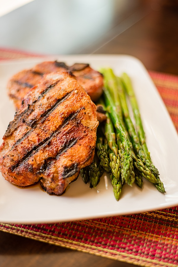 pork chops with carolina spice rub • a sweet pea chef