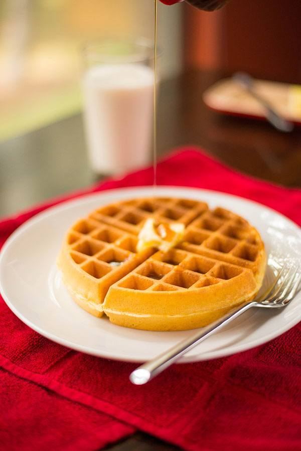 recipe: cornmeal waffles egg whites [9]
