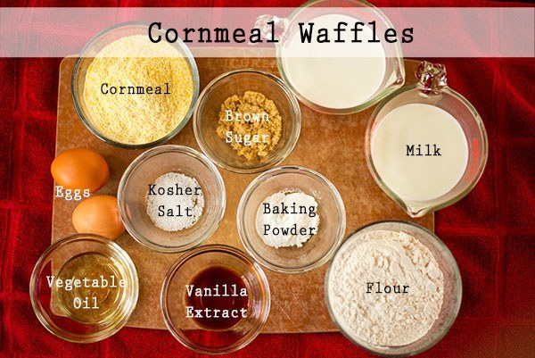 Perfect Cornmeal Waffles