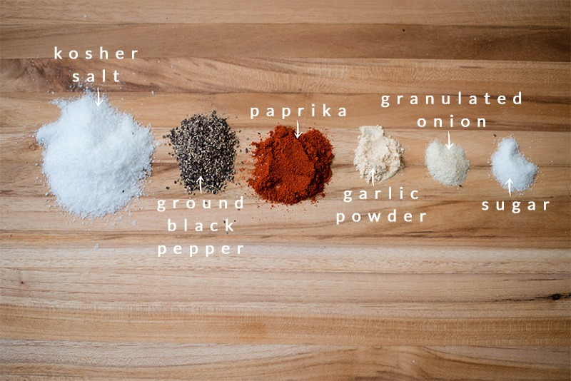 Homemade Seasoning Salt - Ingredients
