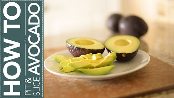 How to Pit and Slice an Avocado