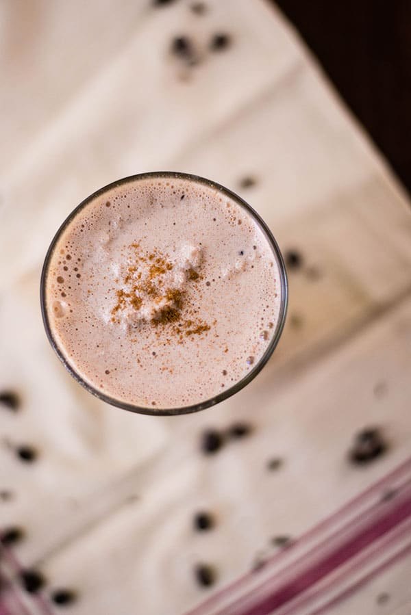 Almond Butter, Chocolate & Coffee Bean Protein Shake • A Sweet Pea ...
