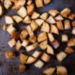 Homemade Croutons Square Recipe Preview Image