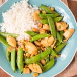 Kung Pao Scallops Square Recipe Preview Image