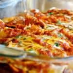 Shredded Chicken Enchiladas Square Recipe Preview Image