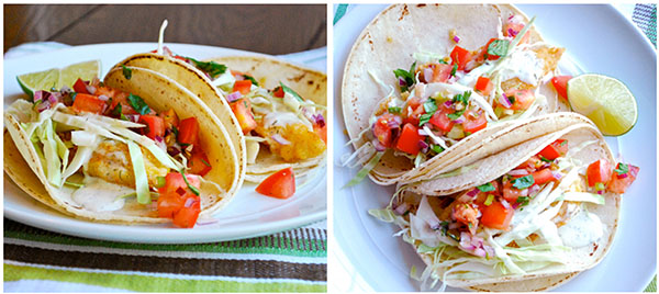 Baja Fish Tacos Meal Plan