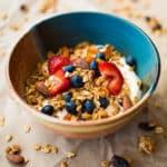 Easy Homemade Granola Square Recipe Preview Image