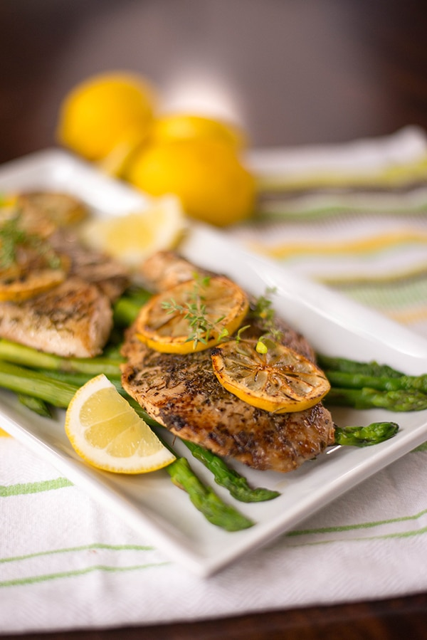 Lemon-Herb Tilapia