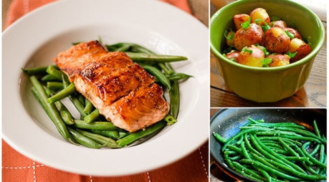 Pan-Roasted Salmon Meal Plan