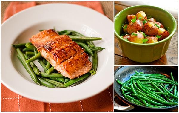 Meal Plan: Pan-Roasted Salmon