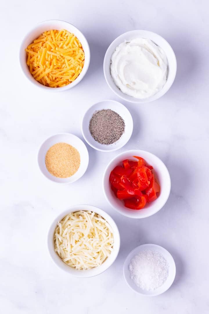 Homemade Healthy Pimento Cheese Spread