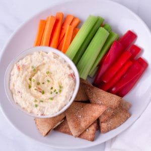 Homemade Healthy Pimento Cheese Spread