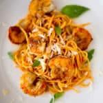 Breaded Shrimp Marinara Square Recipe Preview Image