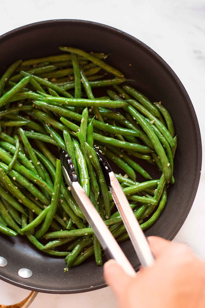 Garlic Parmesan Green Beans A Sweet Pea Chef
