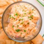 Homemade Pimento Cheese Spread Square Recipe Preview Image