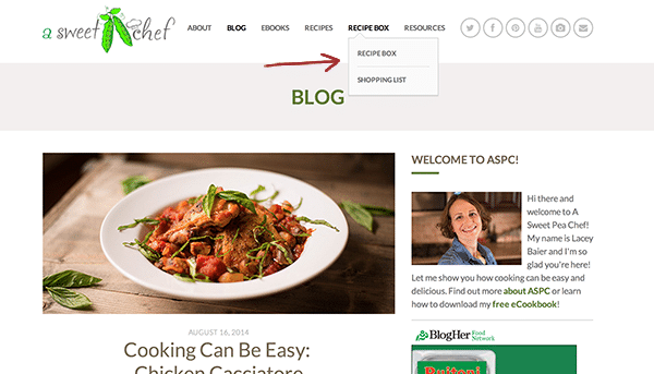 Saving Recipes with ZipList + A New Look is on the Way!