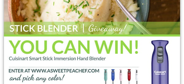 Stick Blender Giveaway