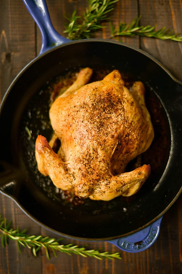 35 Easy Chicken Recipes - Easy Roasted Chicken