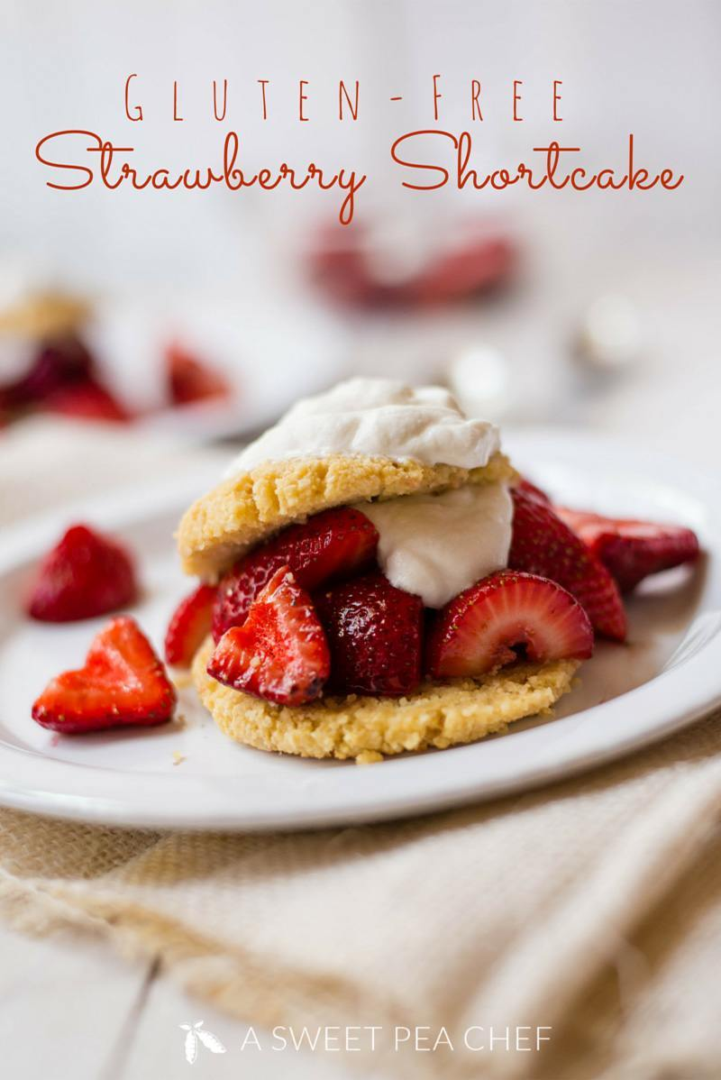 Strawberry Shortcake with Vegan Whipped Cream