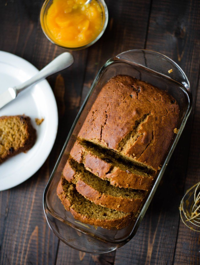 Pumpkin Raisin Bread | One of the very best things about Fall and pumpkins. www.asweetpeachef.com