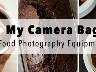 Food Photography Equipment - My Camera Bag