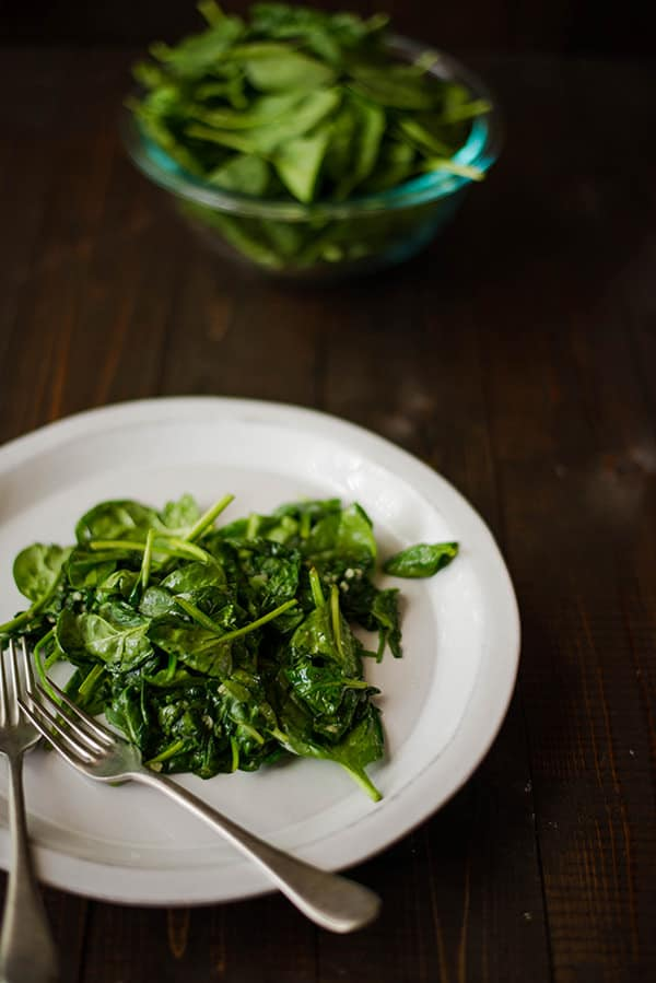 Garlic Sauteed Spinach