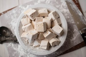 how to make homemade marshmallows without gelatin and corn syrup