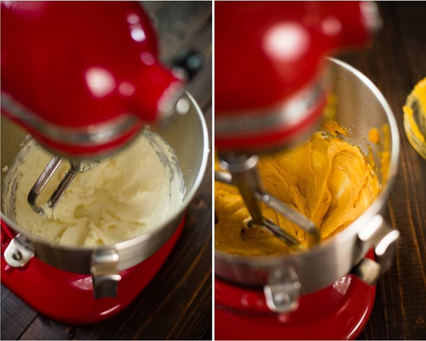 Pumpkin Pie From Scratch - Mixing Ingredients