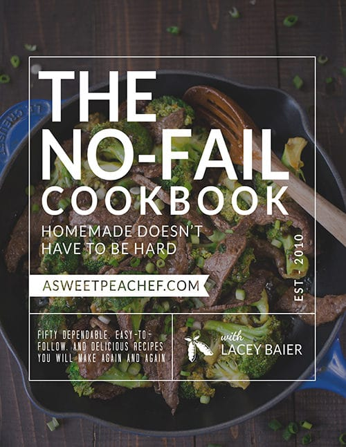 The No-Fail Cookbook
