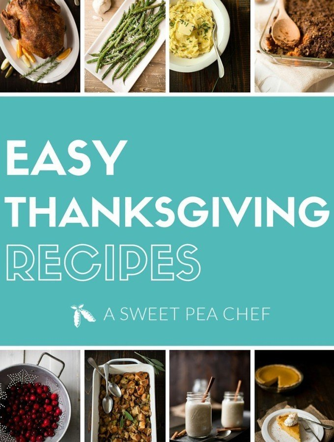 Easy Thanksgiving Recipes | From our family to yours - tons of easy, delicious, from scratch Thanksgiving recipes. www.asweetpeachef.com