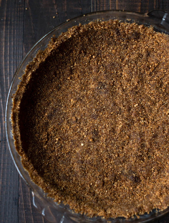 Gingersnap Pie Crust