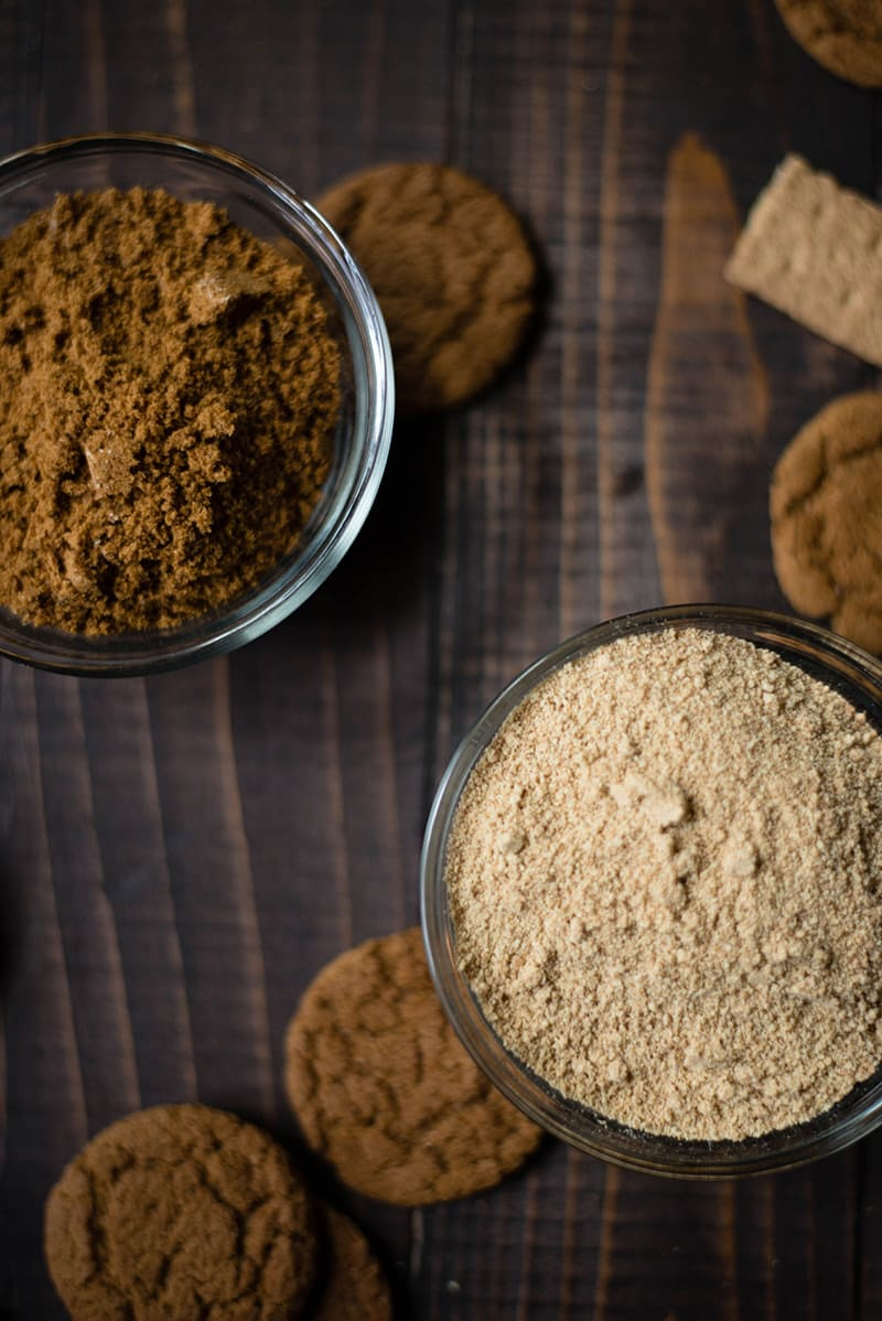 Gingersnap Pie Crust - Crumbs