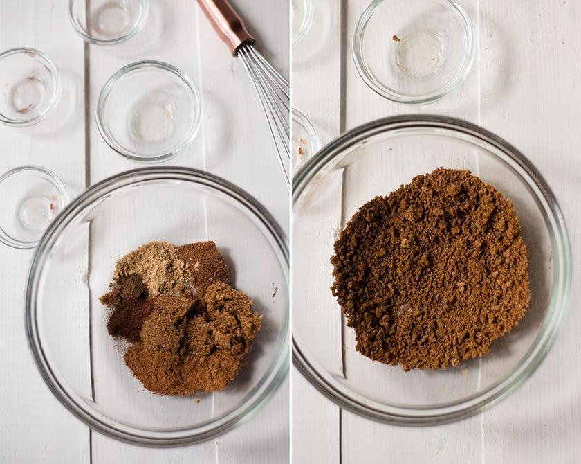Homemade Pumpkin Spice Latte - Pumpkin Spice Mixture