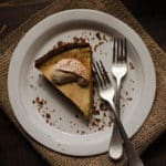 Pumpkin Cheesecake with Gingersnap Crust Square Recipe Preview Image