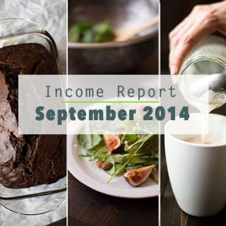 September 2014 Income Report