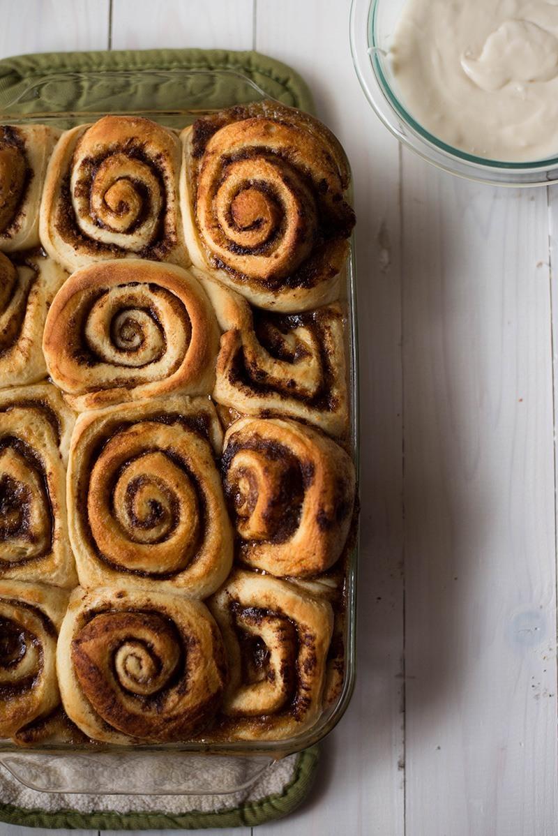 Easy Cinnamon Roll Recipe - Baked