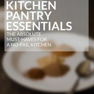Kitchen Pantry Essentials