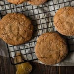 Soft Ginger Molasses Cookies Square Recipe Preview Image