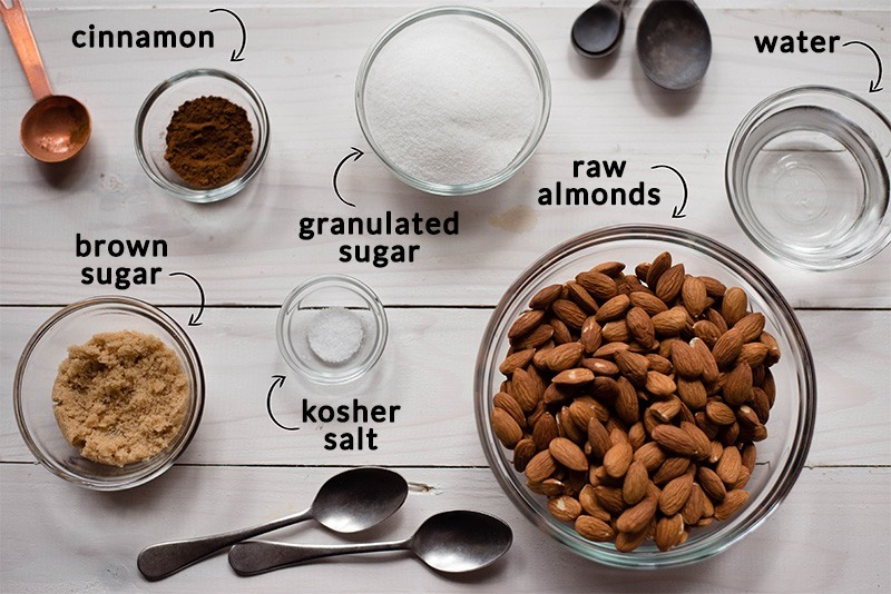 Sugared Almonds Recipe - Ingredients