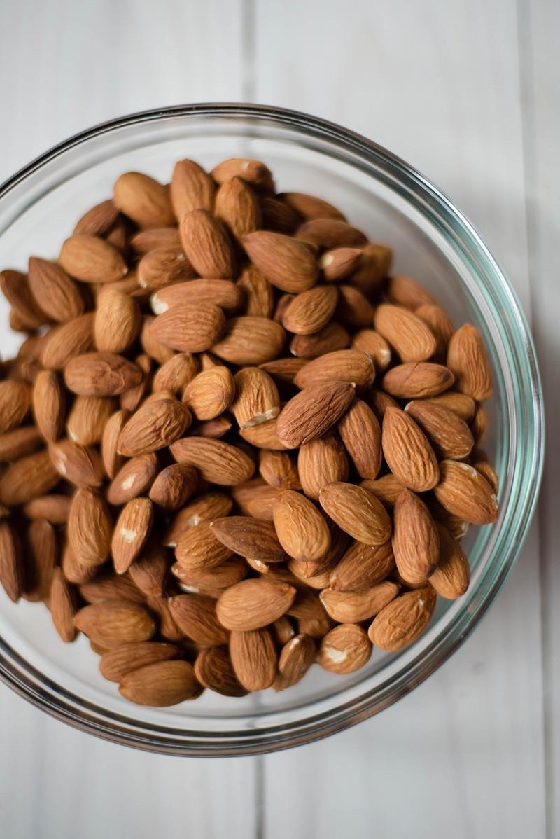 Sugared Almonds Recipe - Raw Almonds