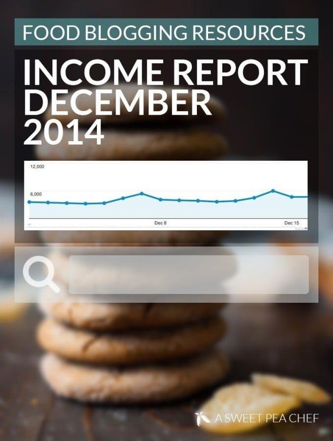December Income Report
