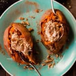 Baked Sweet Potatoes Square Recipe Preview Image
